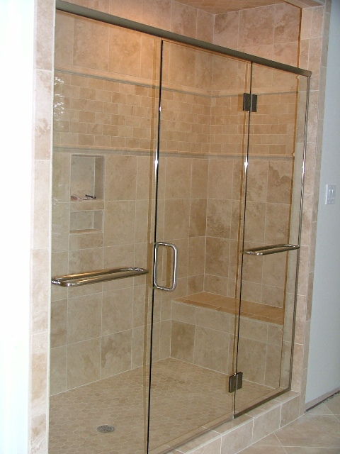 Custom_Two_Panel_and_Frameless_Glass_Shower_Door_2009_051