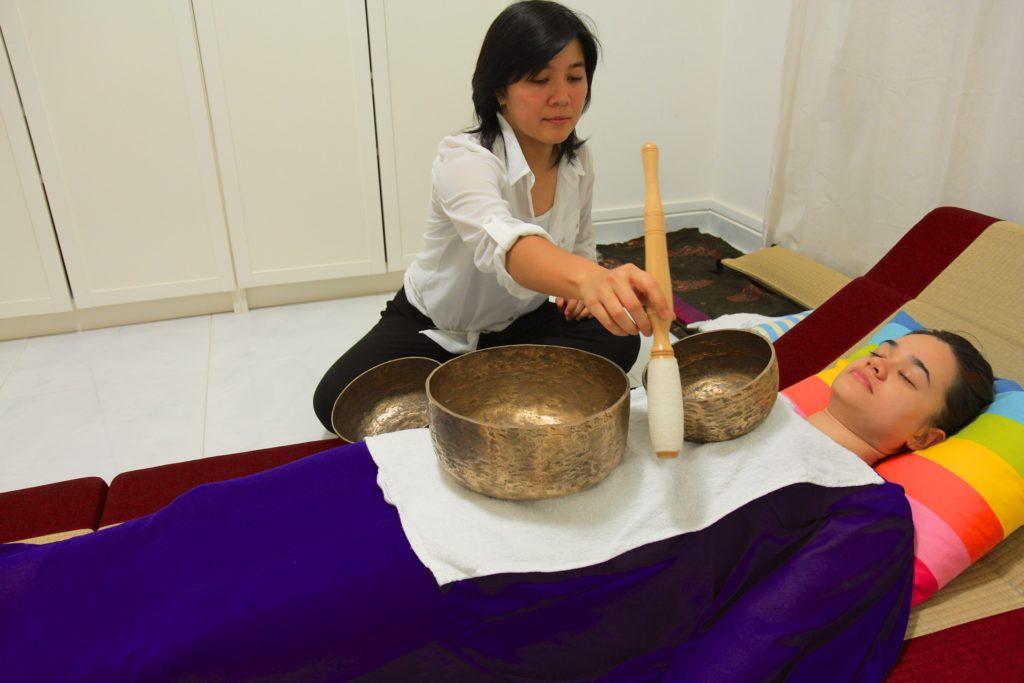 Tibetan energy healing method