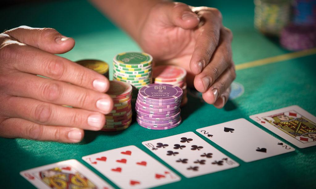 Use of online gambling