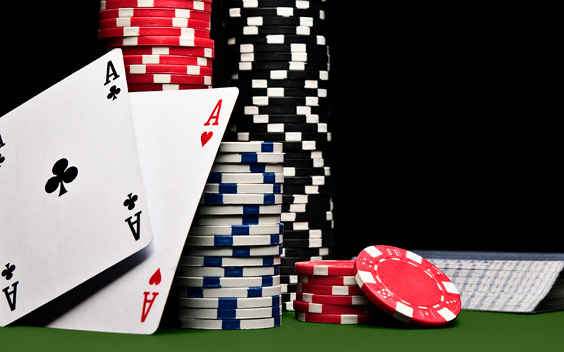 online poker card